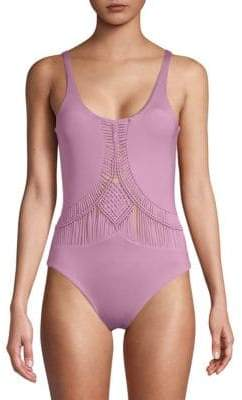 Dolce Vita One-Piece Cut-Out Swimsuit