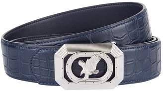 Stefano Ricci Eagle Buckle Crocodile Belt