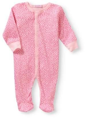 Baby Steps Newborn Baby Girl Footie Coverall Pajama