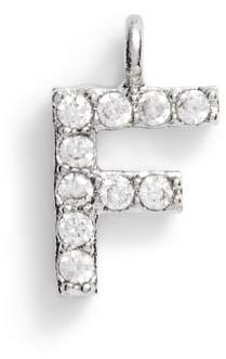 Serefina Pave Initial Charm Bracelet
