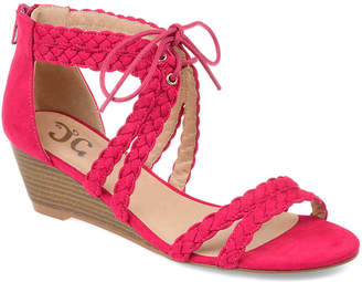 Journee Collection Aubree Wedge Sandal - Women's