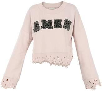 Amen Pink Sweatshirt