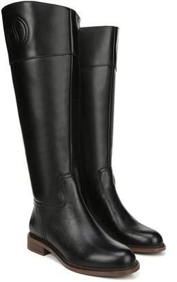 Franco Sarto Leather High Shaft Wide Calf Boots- L Hudson