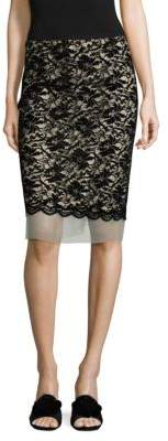 Marc Jacobs Scallop Lace Skirt