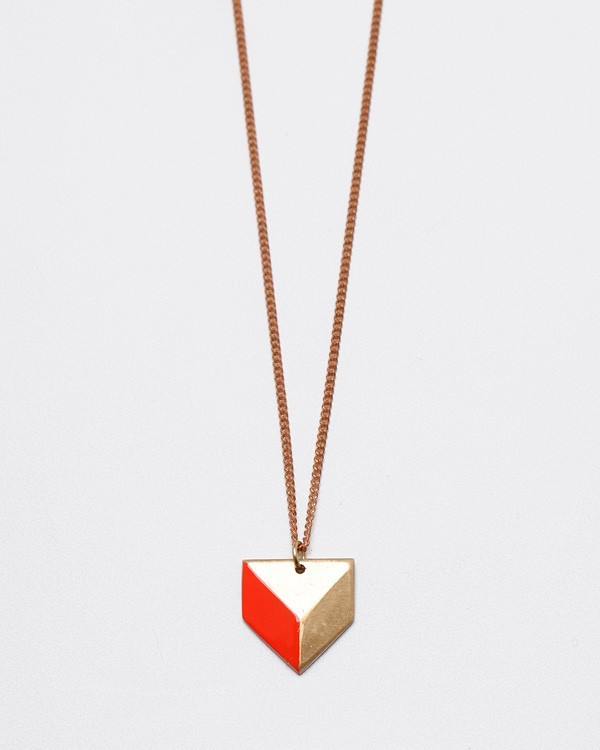 Sabine Chevron Necklace