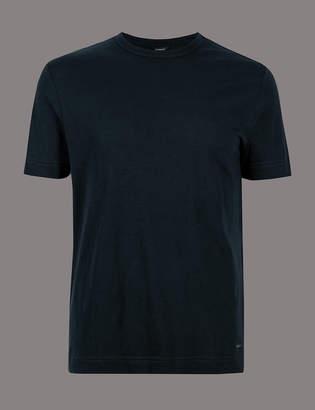 e74f8bbd AutographMarks and Spencer Supima Cotton Crew Neck T-Shirt