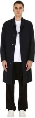 Burberry Ss18 Cotton Gabardine Raincoat