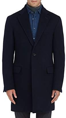Sanyo Men's Chester Down Wool Topcoat
