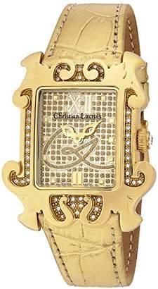 Christian Lacroix (クリスチャン ラクロワ) - [クリスチャン・ラクロア]CHRISTIAN LACROIX 腕時計クォーツ C CLW8003909SM レディース 【正規輸入品】