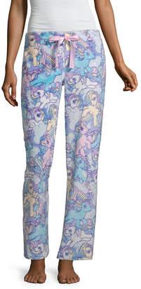 Asstd National Brand Minky Sleep Pant Womens Plush Pajama Pants My Little Pony