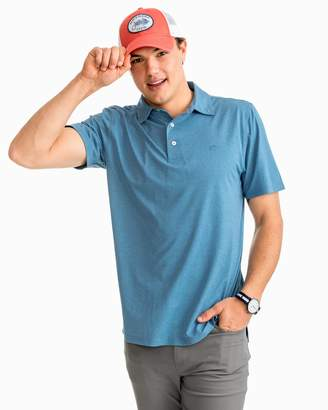 DAY Birger et Mikkelsen Southern Tide Driver Heathered Performance Polo