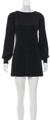 Azzaro Silk Mini Dress