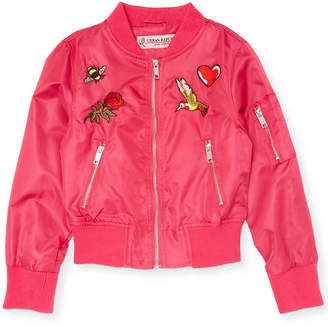 Urban Republic Patch Accented Bomber Jacket