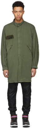 Alpha Industries 424 Green Edition Crewneck Parka