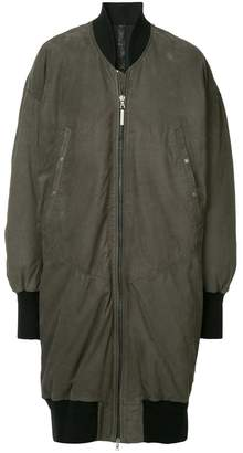 Isaac Sellam Experience mid-length bomber jacket