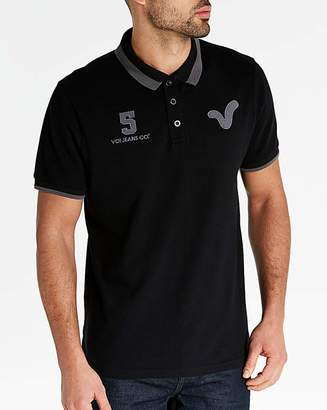 Voi Jeans Wyndham Logo Collar Polo Long