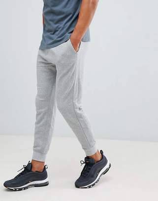 Pull&Bear Tailored Joggers In Light Gray