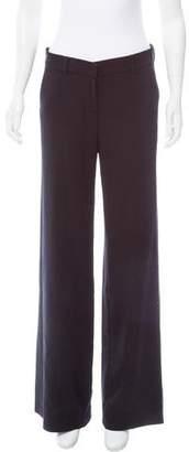 Nicole Farhi Wool Mid-Rise Pants