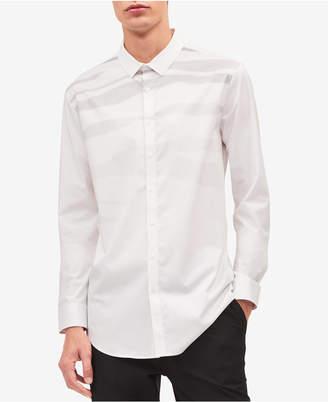 Calvin Klein Jeans Men's Jacquard Shirt