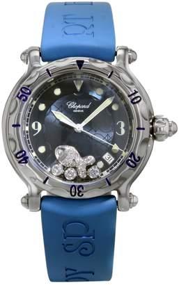 Chopard Happy Diamond Blue Steel Watches