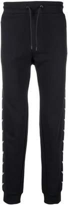 Emporio Armani side-logo track trousers