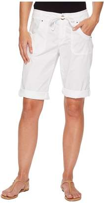 Fresh Produce Stretch Broadcloth Safari Pedal Pusher Women's Shorts