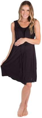 Baby Be Mine 3 in 1 Labor/Delivery/Nursing Gown Maternity (S/M, )