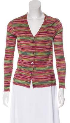 Missoni Striped Long Sleeve Cardigan