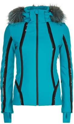 Fendi Fur Trim Technical Jacket