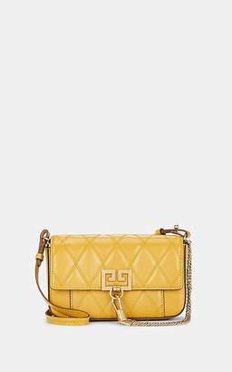 Givenchy Women's Pocket Mini Leather Crossbody Bag - Gold