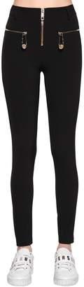 Versus High Waisted Jersey Pants
