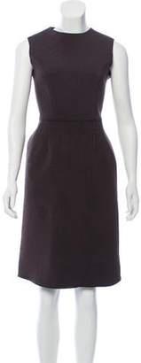 Hache Brocade Midi Dress
