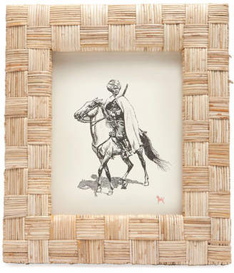 """Pigeon and Poodle Grasse Natural Cane Picture Frame, 8"""" x 10"""""""