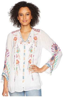 Johnny Was Alaura Blouse Women's Blouse