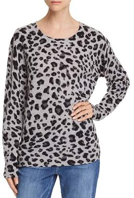 Bloomingdale's C by Leopard Print Cashmere Sweater - 100% Exclusive