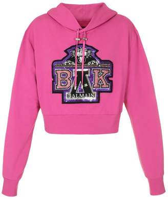 Balmain FOR BEYONC Sweater For Beyoncé Limited Edition Sweatshirt With Maxi Crest Bak