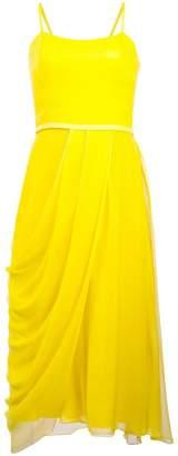 Carolina Herrera draped midi dress