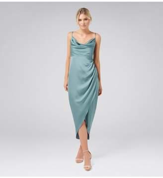 Ever New Holly Cowl Neck Midi Dress