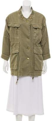 Current/Elliott Button-Up Utility Jacket