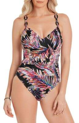 Magicsuit Whimsy Randal One-Piece Ring-Strap Swimsuit