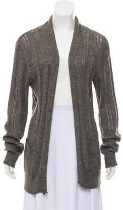AllSaints Wool Blend Open Front Cardigan