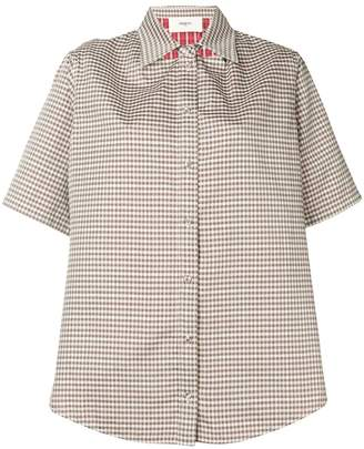 Ports 1961 checked short sleeved shirt