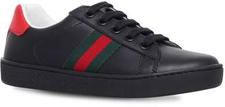 Gucci New Ace Web Sneakers