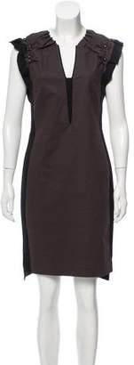 Schumacher Dorothee Embellished Sheath Dress