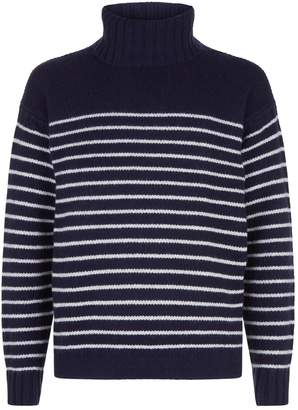 Polo Ralph Lauren Breton Stripe Roll Neck Sweater