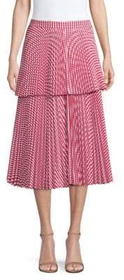 Delfi Collective Reese Pleated Midi Skirt