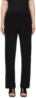 Balenciaga Black Wool and Cashmere Lounge Pants