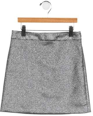 Milly Minis Girls' Metallic Mini Skirt w/ Tags