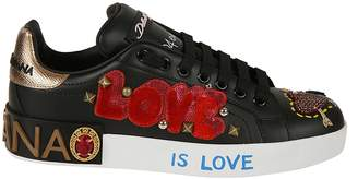 Dolce & Gabbana Applique Sneakers
