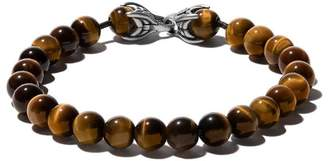 David Yurman Spiritual Beads tiger eye bracelet
